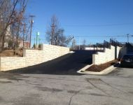 Playhouse Concrete Retaining Wall